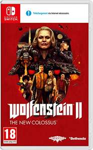 Wolfenstein II The New Colossus na Nintendo Switch @Amazon