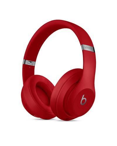 Bezprzewodowe słuchawki Beats Studio3 w czerwonym kolorze