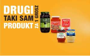Drugi taki sam produkt za 1 grosz w Develey