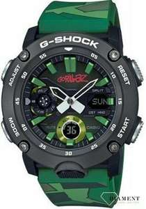 Zegarek Casio G-SHOCK Carbon Core Guard Gorillaz Camo Limited GA-2000GZ-3AER