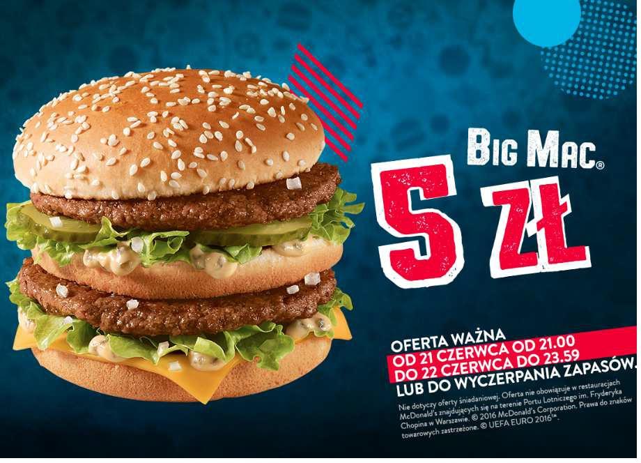 BigMac za 5zł (McDonald's )