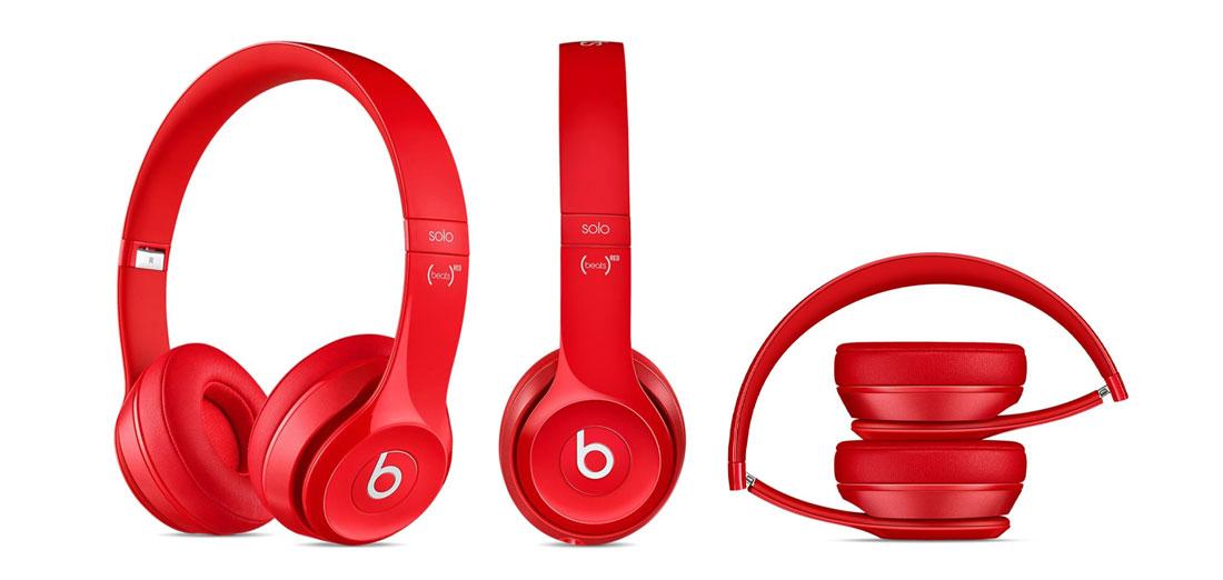 Apple Beats Solo2 On-Ear bezprzewodowe niebieskie