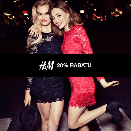 -20% na ważną legitymację studencką w H&M!