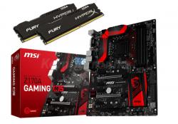 MSI Z170A GAMING M5 + HyperX Fury Black 16GB (2x8GB 2400MHz) + ewentualny CASHBACK @ Komputronik