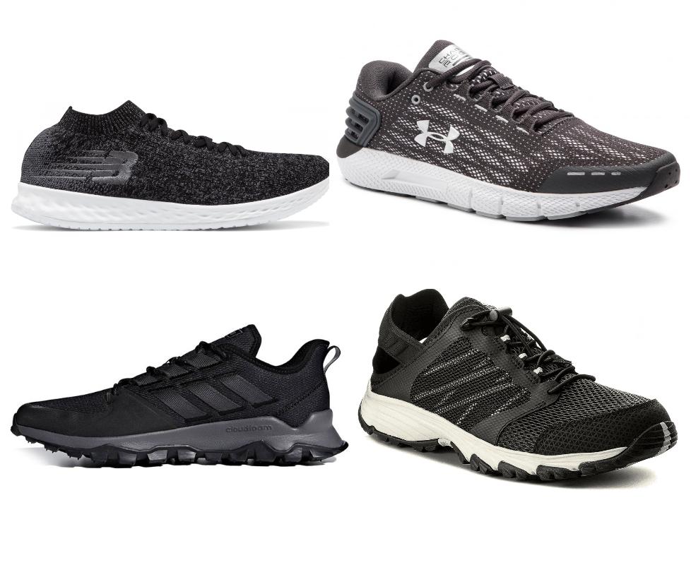 Zestawienie buty sportowe: Adidas, The North Face, New Balance, Under Armour, Asics