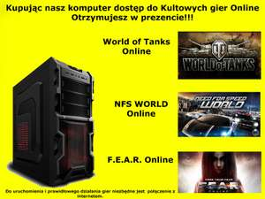 Komputer Intel Core i7 8GB RAM 1TB HDD GTX770 2GB @Allegro