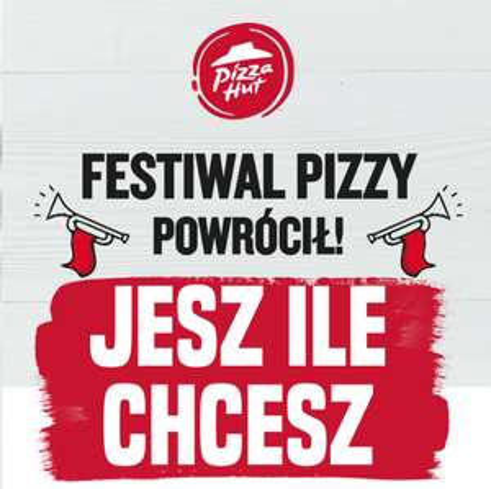 Festiwal Pizzy w Pizza Hut za 19.99zł.