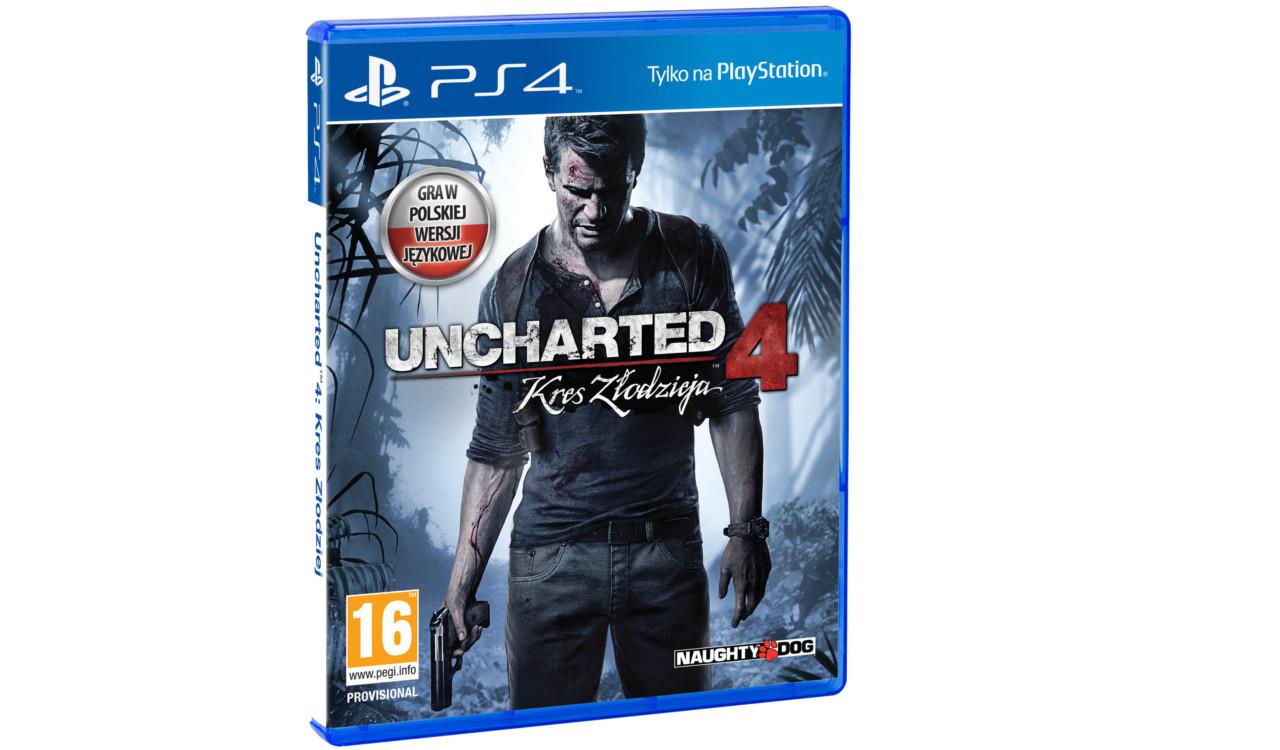 Najnowszy Uncharted, póki co chyba najtańsza oferta
