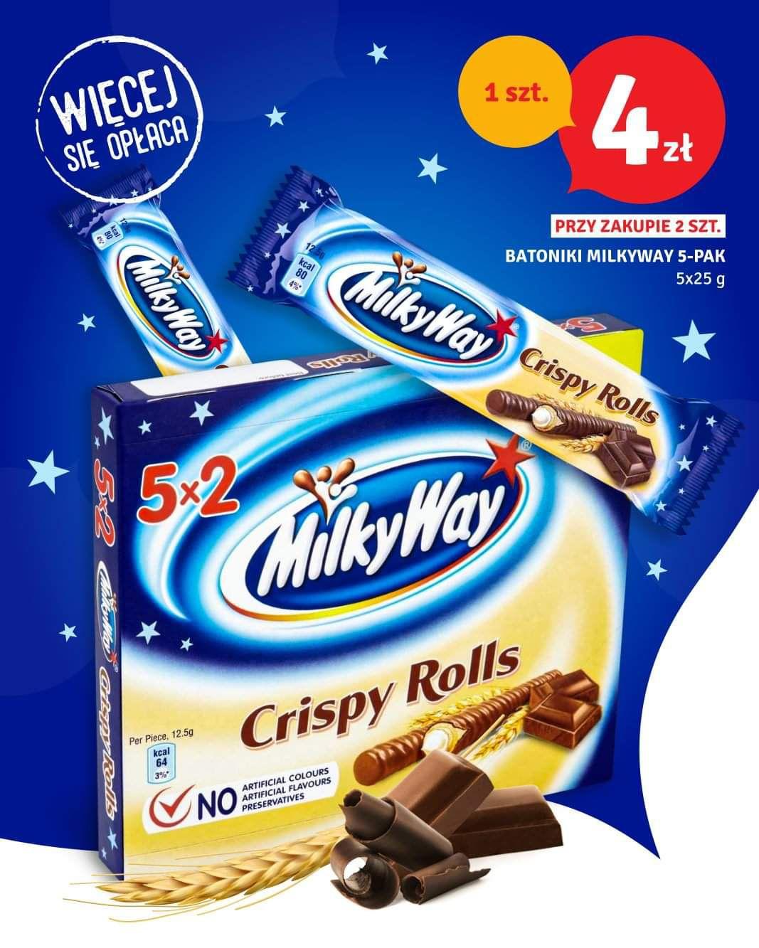 *DEALZ* Milky Way Crispy Rolls 10 szt za 8zl