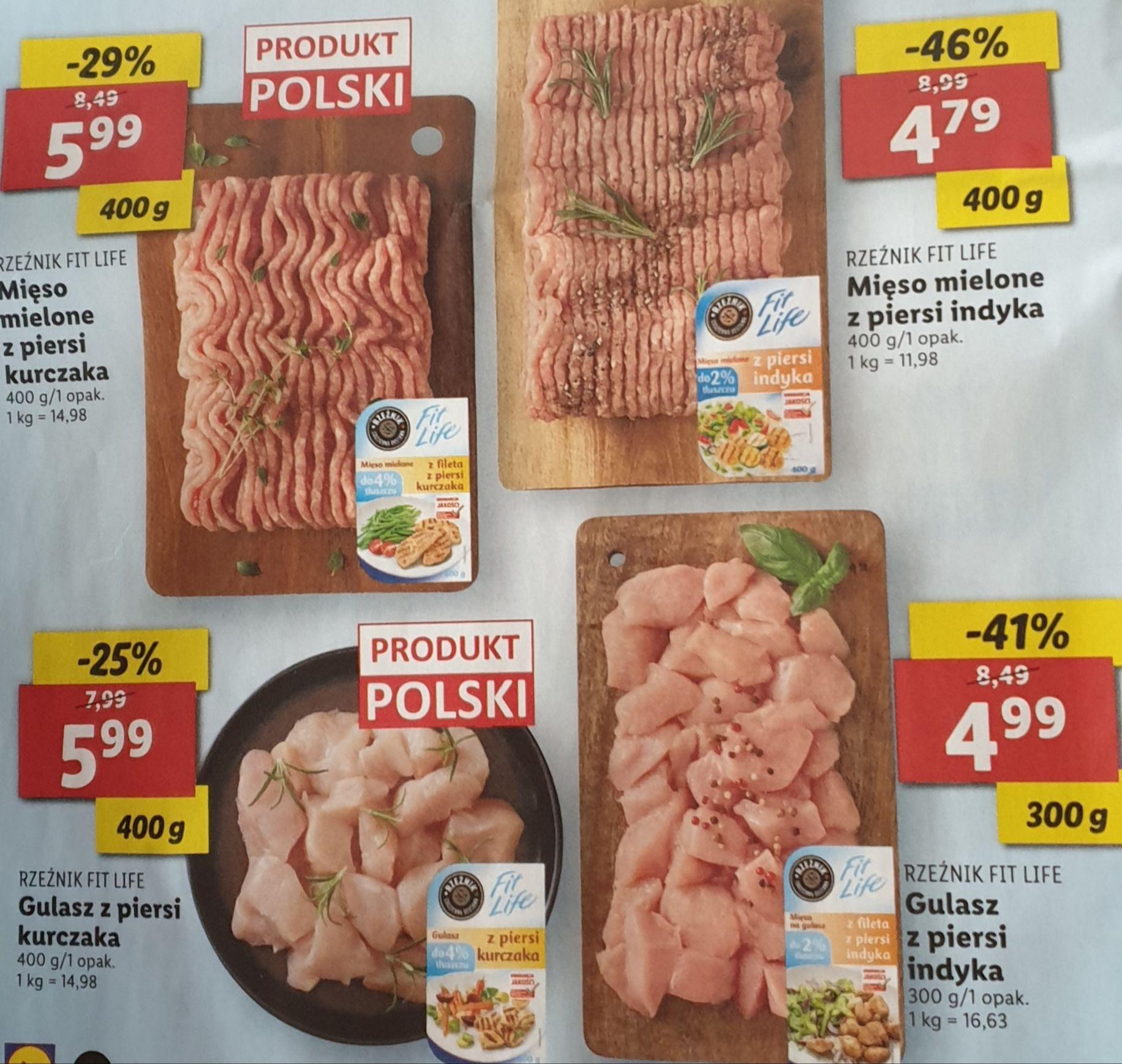 Mięso marki Rzeźnik Fit Life do 46% taniej @Lidl