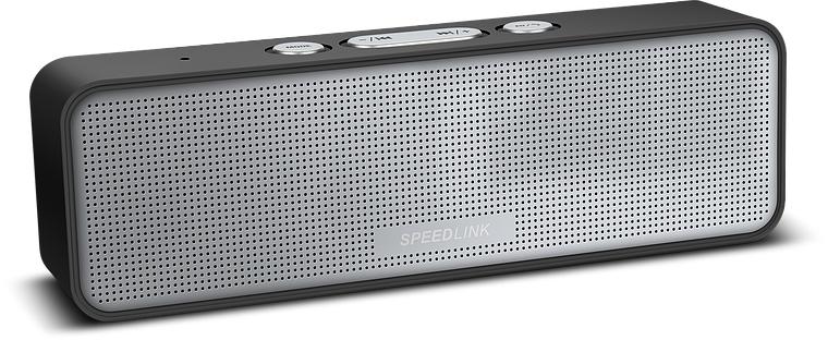 Głośnik Speedlink AMPARO (bateria do 12h pracy, Bluetooth, radio FM, czytnik kart, mikrofon) za 49zł @ ProCpu