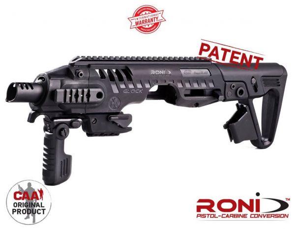 RONI G2-9 CAA Tactical PDW konwersja do Glock 17, 18, 19, 22, 23, 25, 31 & 32