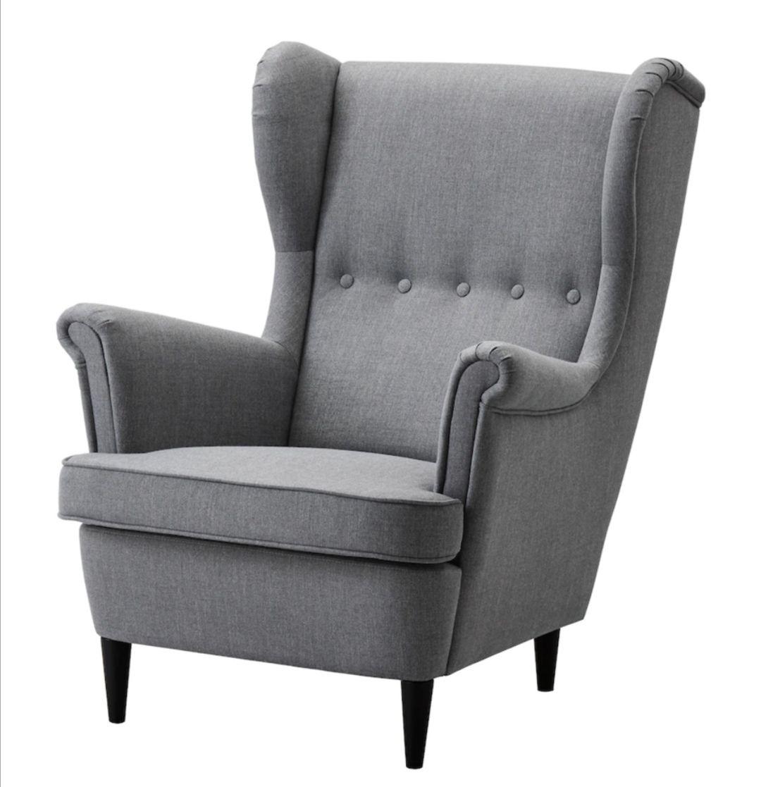 Fotel uszak Strandmon IKEA