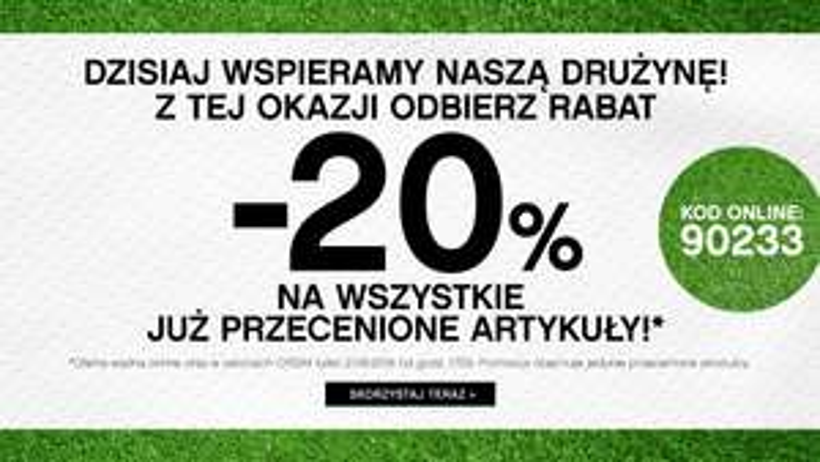 -20% na produkty przecenione ORSAY