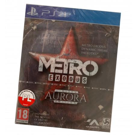 METRO Exodus Aurora Edycja Limitowana PS4