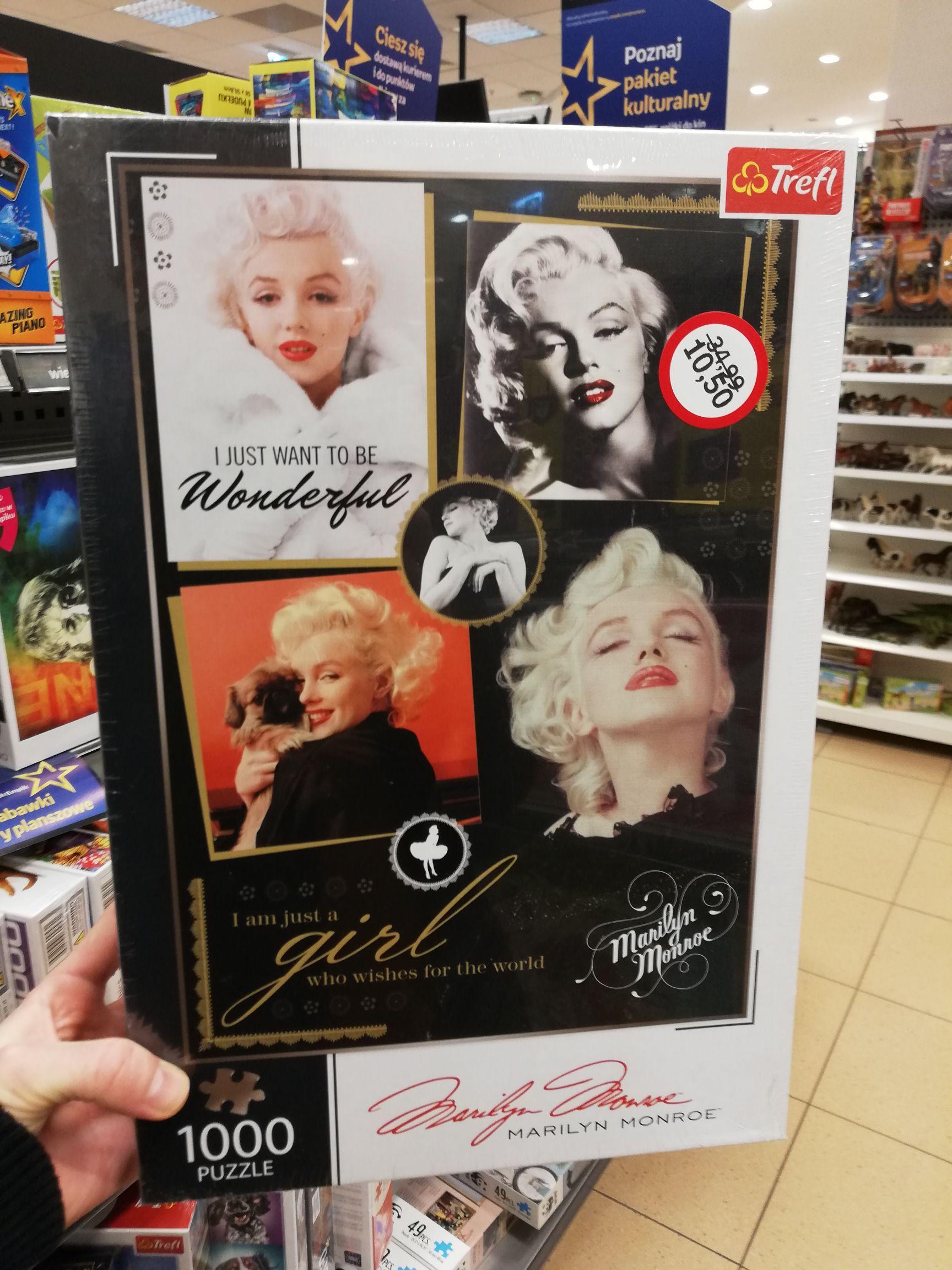 Marilyn Monroe Elvis puzzle 1000 Empik