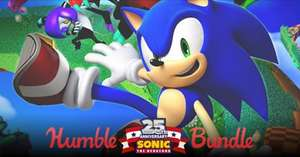 Zestaw Sonic 25th Anniversary (Sonic the Hedgehog, Sonic 3D Blast i inne) @ Humble Bundle