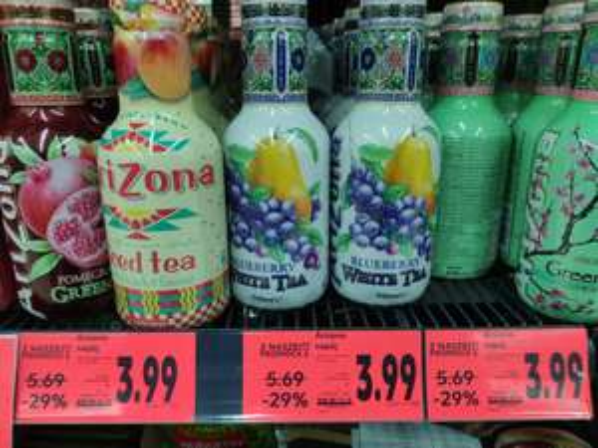 Kaufland : Naprawdę dobra cena na napój Arizona !