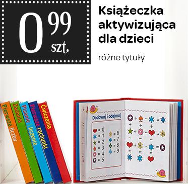 Książeczki aktywizujące dla dzieci za 0,99zł @ Carrefour