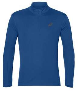 Bluza do biegania Asics Silver Long Sleeve Race Blue. Rozmiar XL
