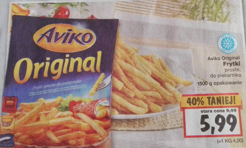 Frytki Aviko 1,5 kg w Kauflandzie