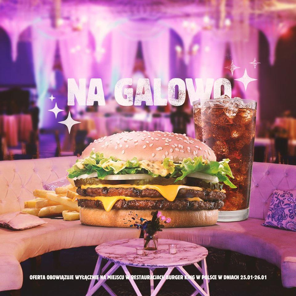 Zestaw Big King XXL w cenie burgera - BK Burger King
