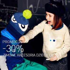 Zimowe akcesoria dla dzieci -30% @ Reserved