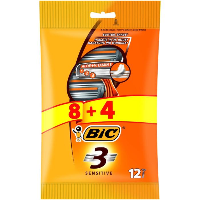 Maszynki BIC (3 ostrza), 1,54 za sztukę