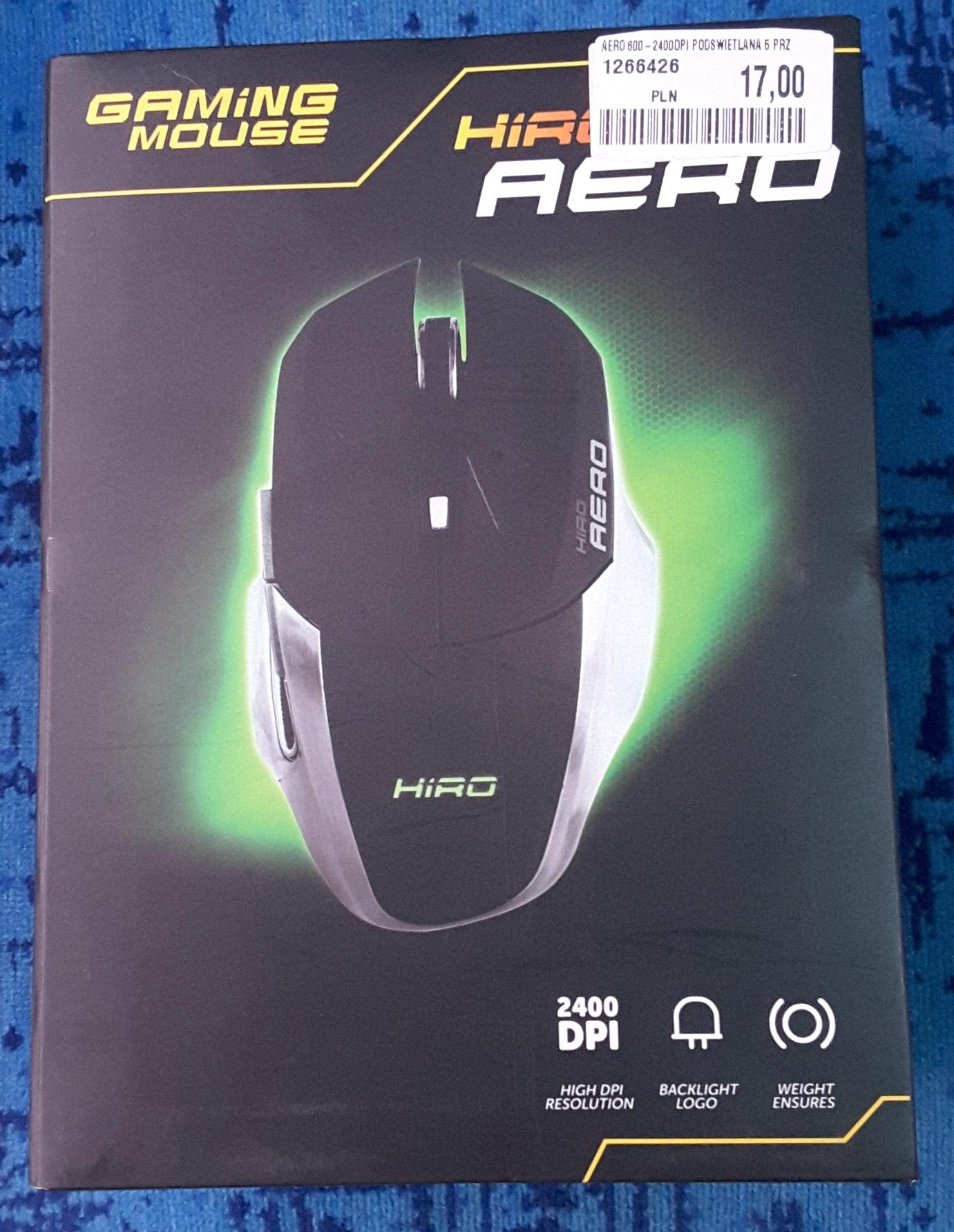 Mysz gamingowa Hiro Aero, Media Markt