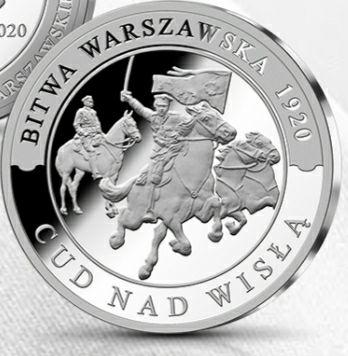 Darmowy Jubileuszowy medal 100 rocznicy Bitwy Warszawskiej (płacimy tylko za wysyłkę)