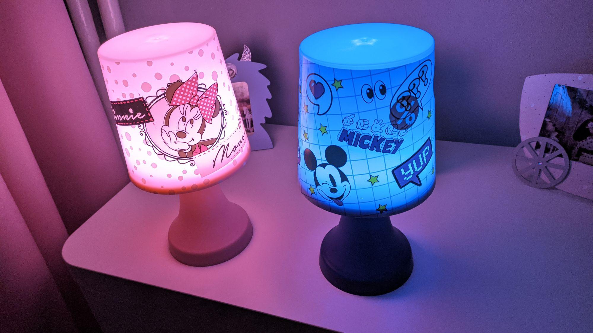 Lampka nocna dla dziewczynki/chłopca Disney Myszka Miki Minnie Pepco