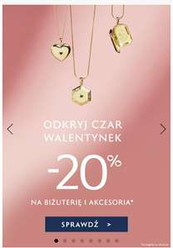 - 20% na walentynki od W.Kruk na biżuterię, akcesoria i zegarki