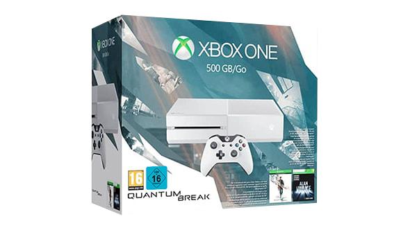 Xbox One 500GB + Quantum Break + Alan Wake + kupon o wartości 150€ na kolejne zakupy @ Microsoft Store