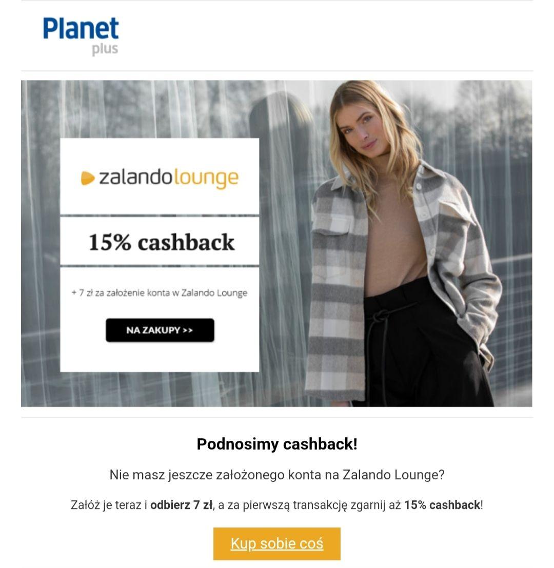 Planet plus -15% na Zalando Lounge + 7 zł za rejestrację