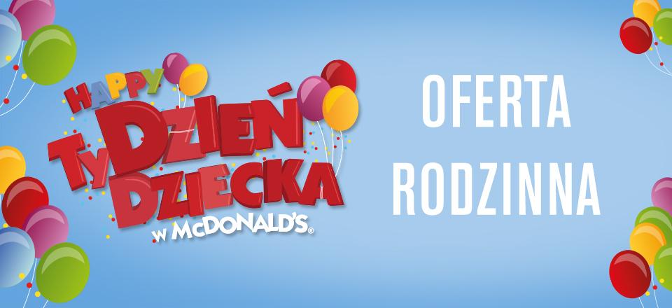 Kup McZestaw oraz Happy Meal a dostaniesz 2 lody GRATIS @ McDonalds