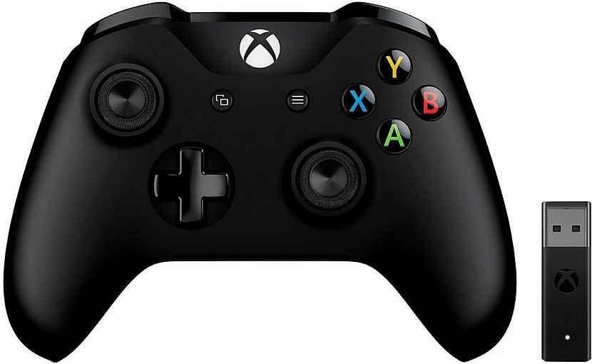 Bezprzewodowy kontroler Microsoft Xbox One z bezprzewodowym adapterem do PC