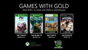 Games with Gold - luty 2020 - xbox