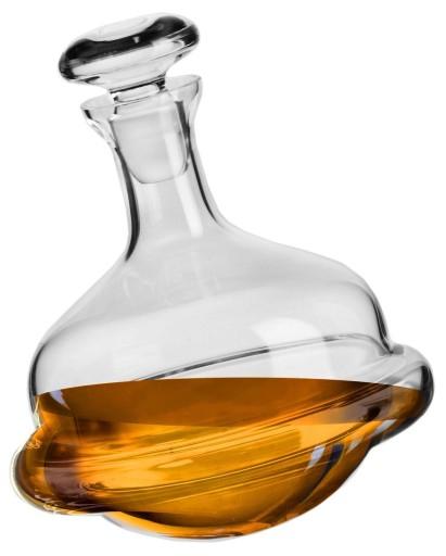 """""""Pijana"""" karafka do Whisky Roly Poly marka Krosno 750ml, Selgros Białystok"""
