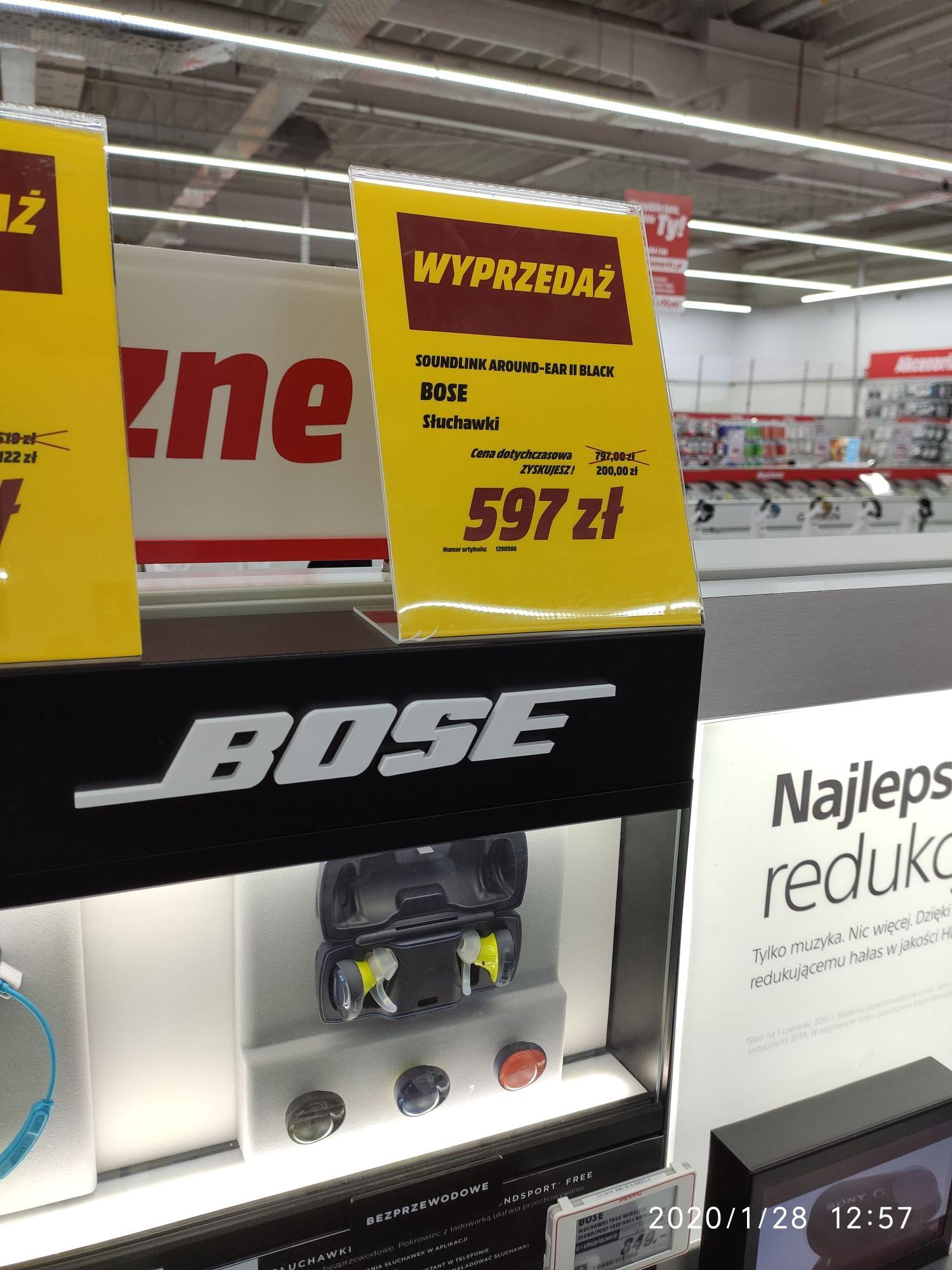 Słuchawki Bose Soundlink Around ear 2 @mediamarkt olsztyn