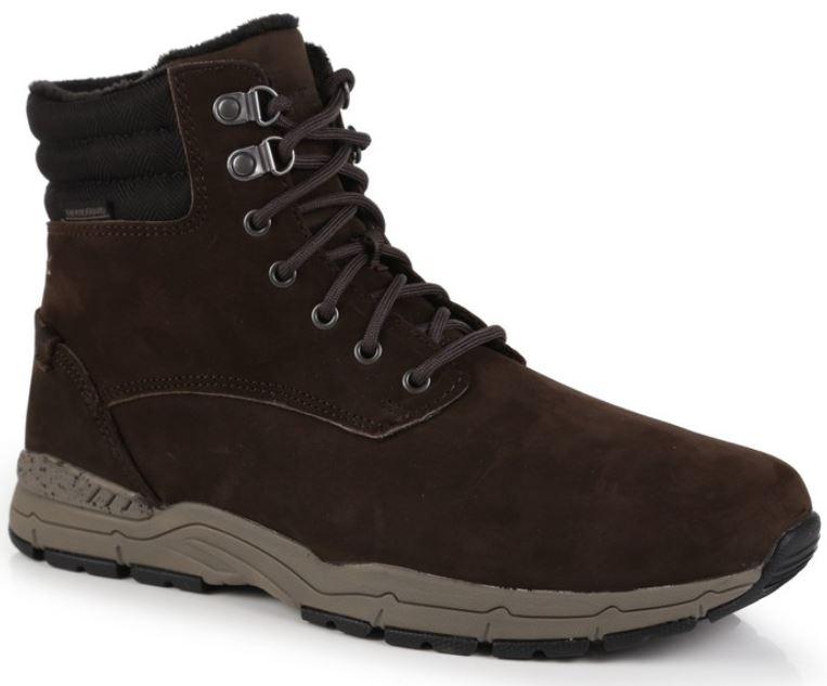 Skórzane buty męskie Regatta GRAFTON THERMO 1G7