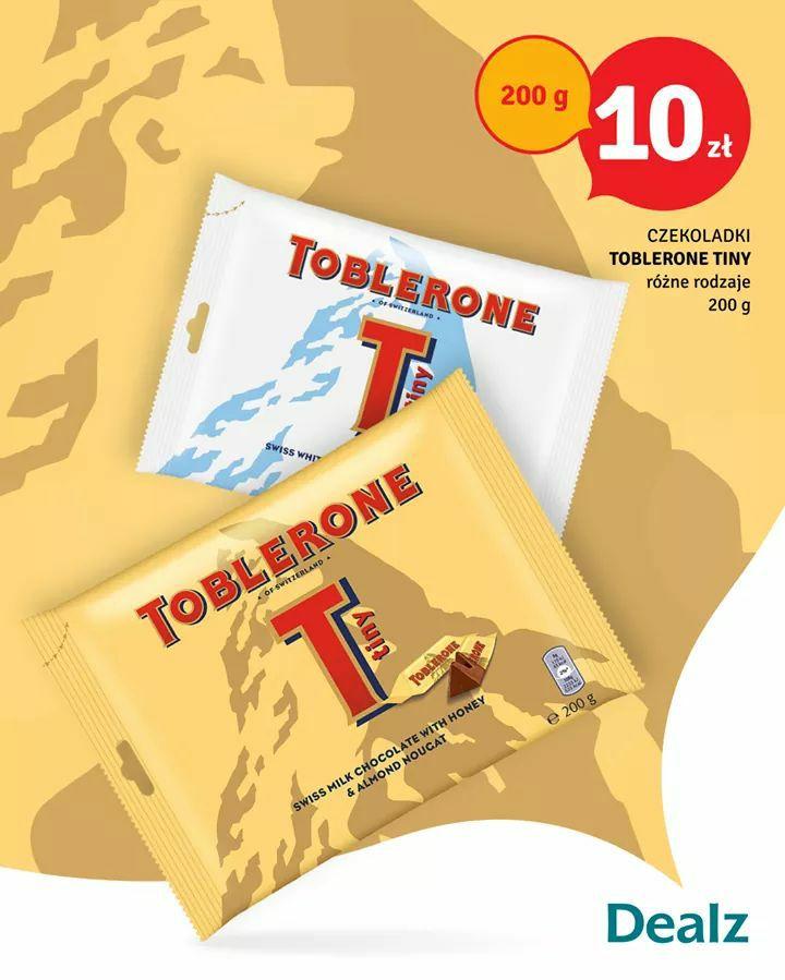 Dealz czekoladki Toblerone Tiny