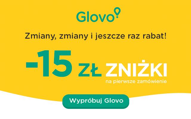 PizzaPortal przechodzi do Glovo, rabat -15zł