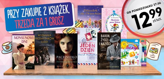 Trzecia książka za 1 GROSZ @ Biedronka