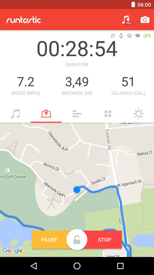 Runtastic Roadbike Pro za darmo [iOs & Android]