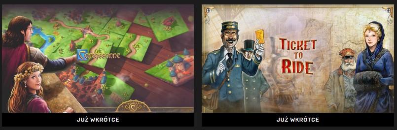 Carcassonne i Ticket to Ride za darmo na Epic Games Store od dzisiaj do 13. lutego