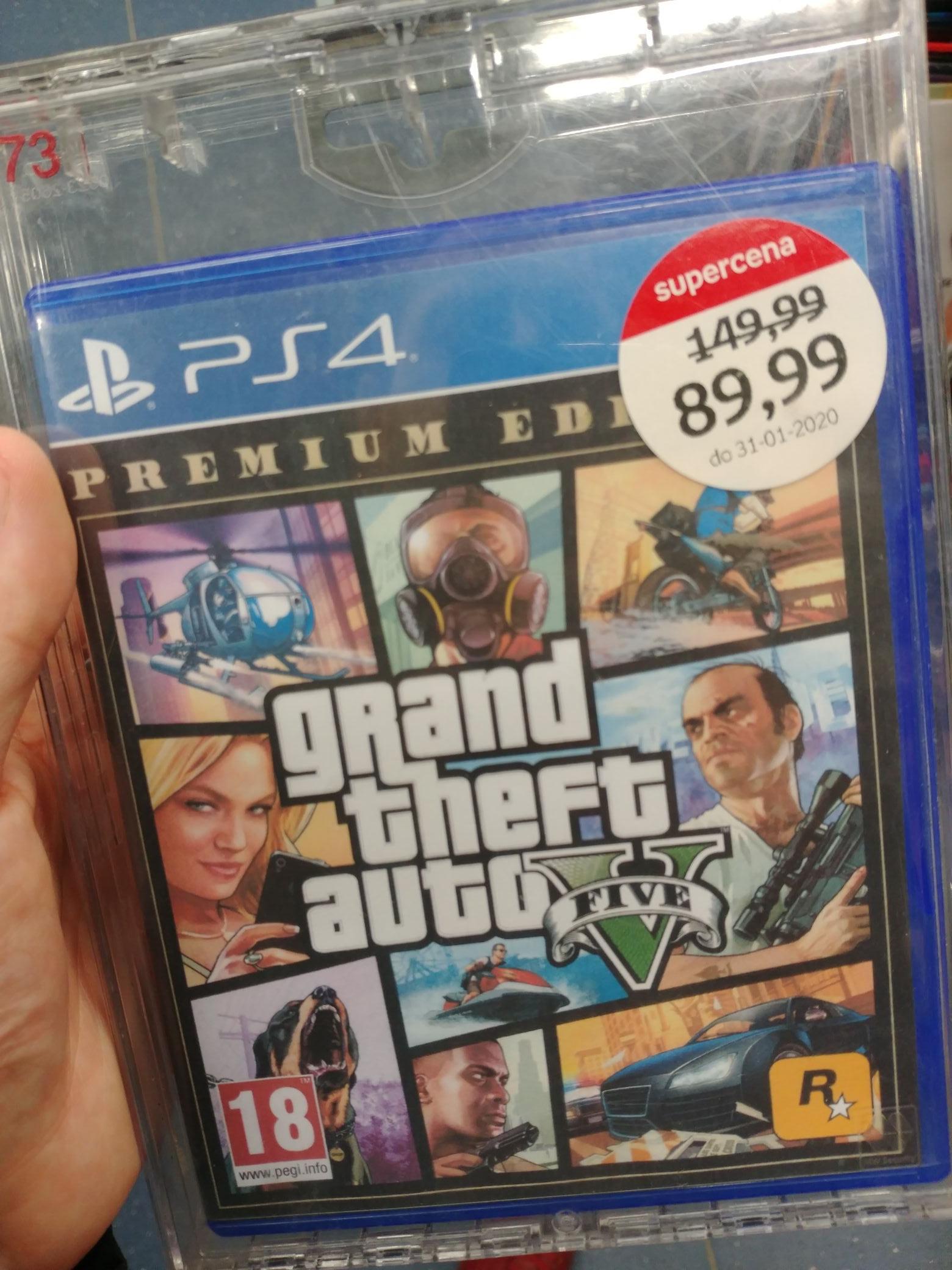 GTA V Premium Edition na PS4 Empik Dekada Olsztyn