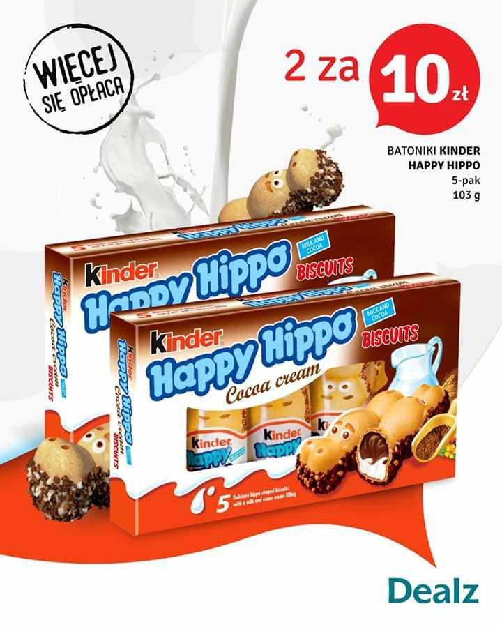 Dealz Kinder Happy Hippo