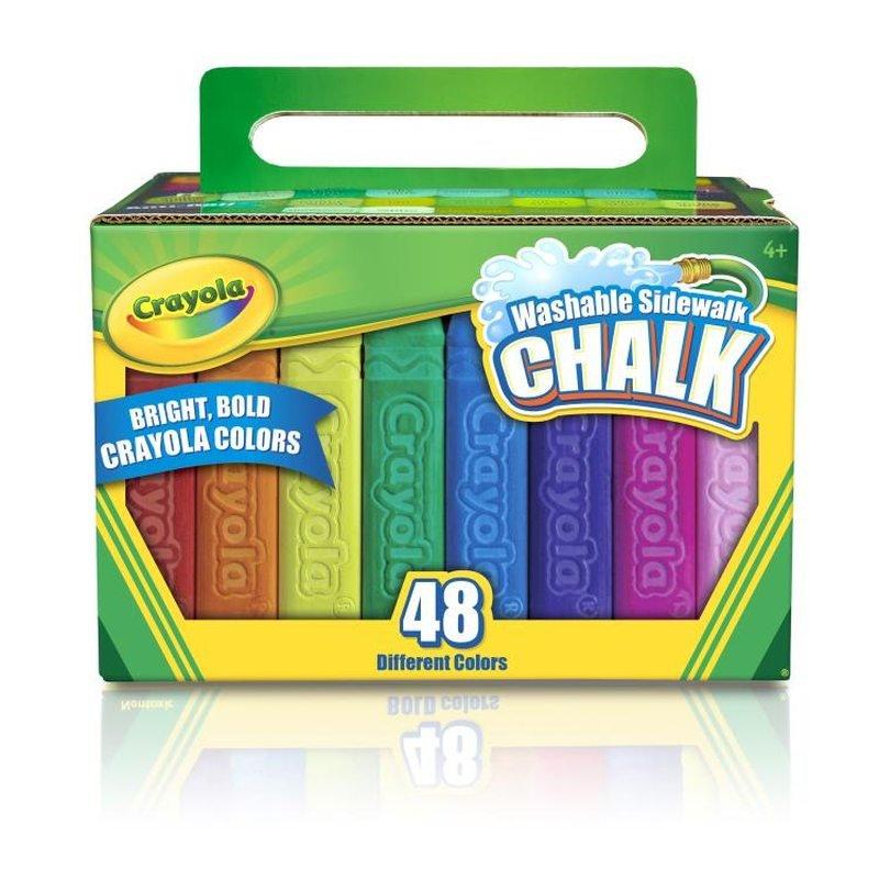 Crayola Core, kreda tęczowa 48szt. za 18,99zł @Empik