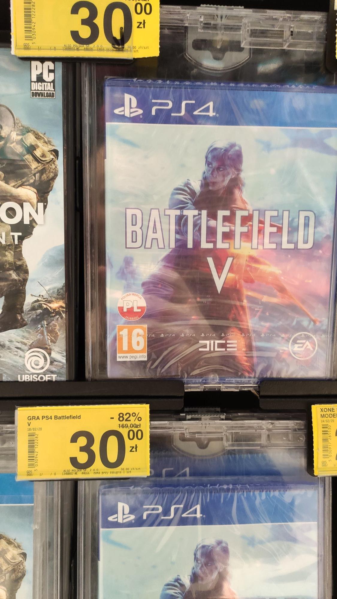 Battlefield V PS4 Carrefour