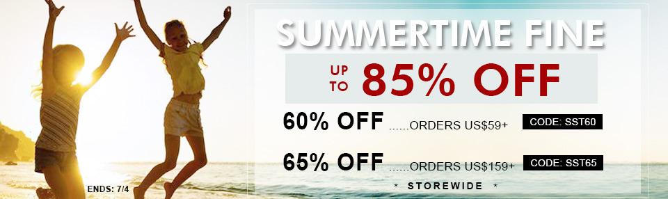 -85% czyli letnie obniżki Romwe